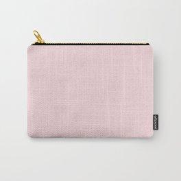 Millennial Pink Solid Blush Rose Quartz Carry-All Pouch