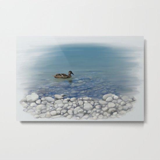 Clear water Metal Print