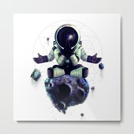 Moon Rock Metal Print