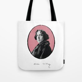 Authors - Oscar Wilde Tote Bag