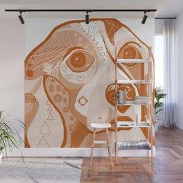 BEAGLE Brown Tones Wall Mural