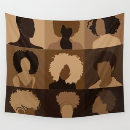FOR BROWN GIRLS COLLECTION COLLAGE Wall Tapestry