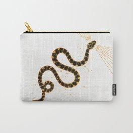 Dark Snake Inktober :: Sleep Copiously Carry-All Pouch