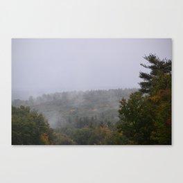 Mountian mist Canvas Print
