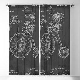 Antique Bicycle Patent 1889-1901 Blackout Curtain
