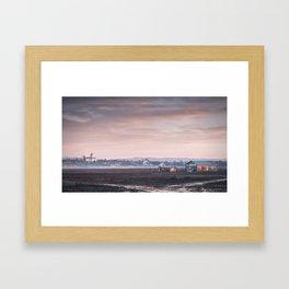 Morning quietness Framed Art Print