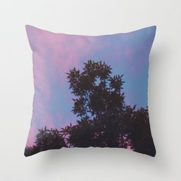East Village Sunsets, NYC Throw Pillow