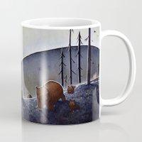 bears Mugs featuring Bears  by Kristin Rian