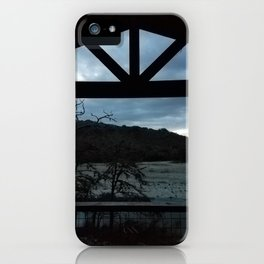 Cabin in Texas Hill Country iPhone Case