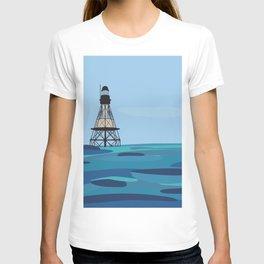 Fowey Rocks Lighthouse T-shirt
