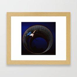 Bam - full pipe 99 Framed Art Print
