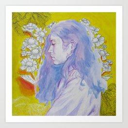 Purple Daze Art Print
