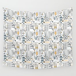 First aid kit Wall Tapestry