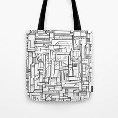 Electropattern(B&W) Tote Bag