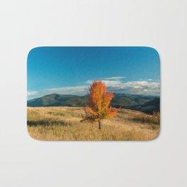 Simple Fall Tree Bath Mat