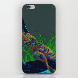 Colorful Lizard iPhone Skin