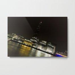 River Thames Downhill Metal Print