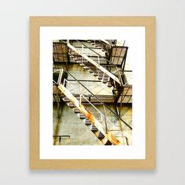 Rust Framed Art Print
