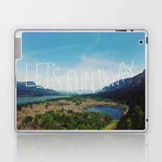 Let's Run Away: Columbia Gorge, Oregon Laptop & iPad Skin