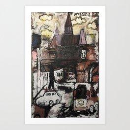 Bretch Art Print