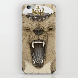 Roar of the Bear iPhone Skin
