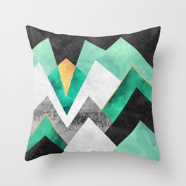 Distant Planet V2 Throw Pillow