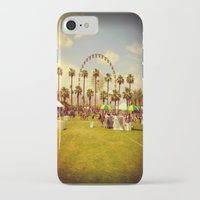 coachella iPhone & iPod Cases featuring Coachella by Jason Chase