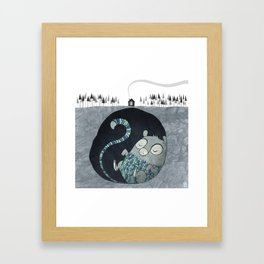 Let's bore for geothermal energy! Framed Art Print