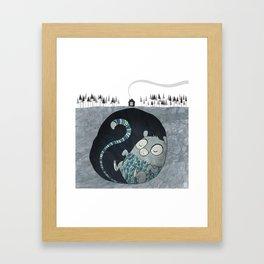 Let's bore for geothermal energy! Framed Art Print