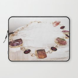 Watermelon Tourmaline Laptop Sleeve