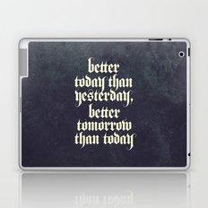 be better Laptop & iPad Skin