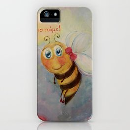 Little Bee iPhone Case