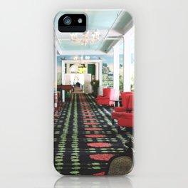 inside the Grand Hotel iPhone Case