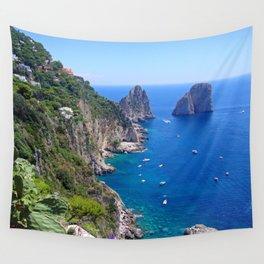 Isle of Capri Coastline Wall Tapestry