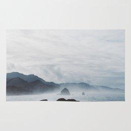 Mist Over Cannon Beach Rug