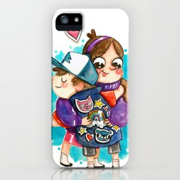 Gravity Falls Super Group Hug! iPhone Case