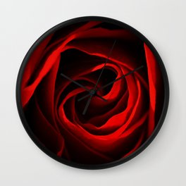 Rose Red 260 Wall Clock