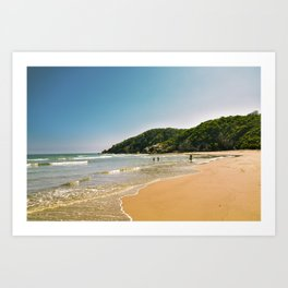 Fishing in Mexico Art Print