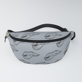 Licking Lips Fanny Pack
