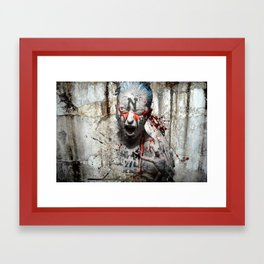 break the mold Framed Art Print