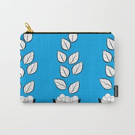 PLANTS AND PEBBLES ART Carry-All Pouch