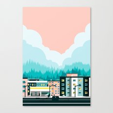 A View of 12th Avenue Canvas Print