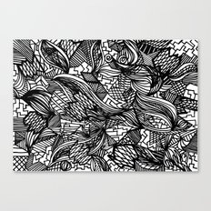Pattern Crazy Canvas Print