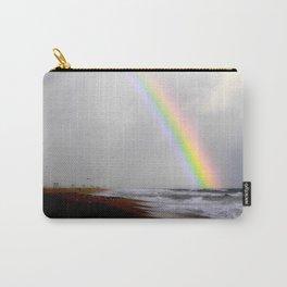 Huntington Beach  Rainbow Carry-All Pouch