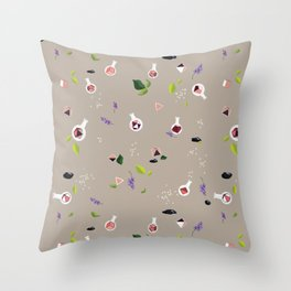 Polyhedral Dice- Alchemist's Table Throw Pillow