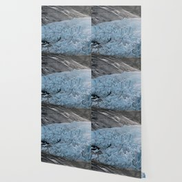 Blue Ice Glacier range in Norway - Landscape Photography Wallpaper