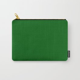 Spring Inspiration ~ Rainforest Green Carry-All Pouch
