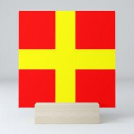 flag of Messina Mini Art Print