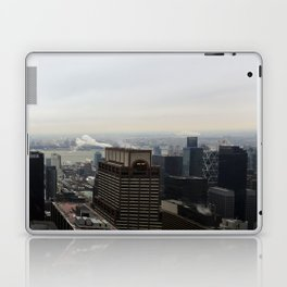 NYC West Side Panorama with Hudson River Laptop & iPad Skin