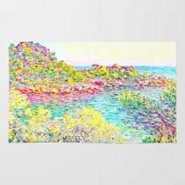 MONET : Landscape Near Montecarlo Rug